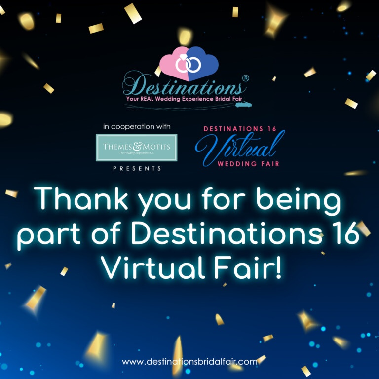 Destinations 16 Virtual Fair Thank you!