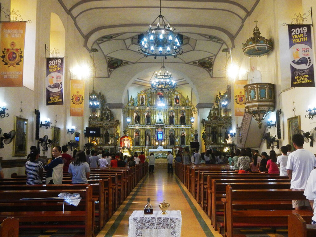 San Ildefonso de Toledo Parish Tanay church